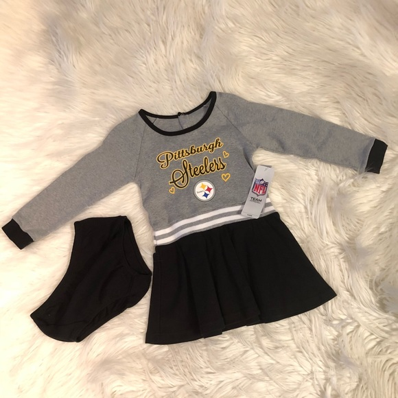 8e94ea6b2fd NFL Pittsburgh Steelers girls dress